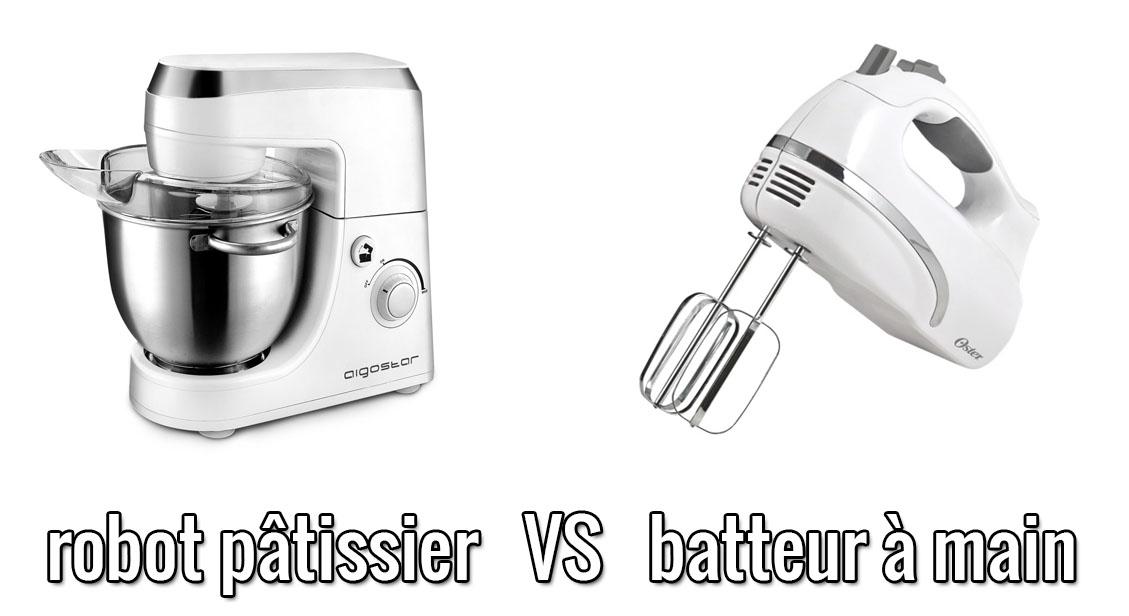 Procesador de alimentos vs batidora de mano