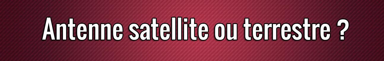 Antena satelital o terrestre