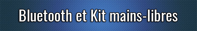Kit Bluetooth y manos libres