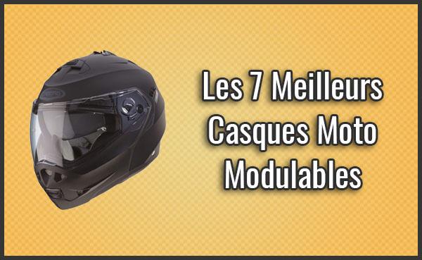Comparatif Des 7 Meilleurs Casques Moto Modulables Test Avis