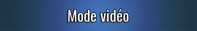 Modo de vídeo