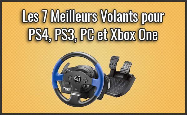 Quel est le Meilleur Volant pour PS4, PS3, PC ou Xbox One? – Comparatif, Test, Avis (Janvier 2019)