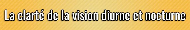Claridad de visión diurna y nocturna