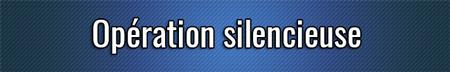 Operación silenciosa