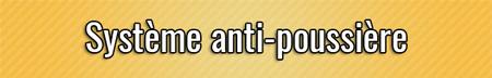 Sistema anti-polvo