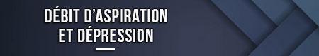 flujo de succión y depresión