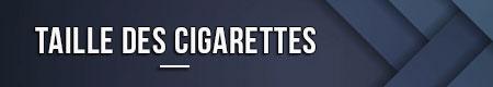 del tamaño de un cigarrillo