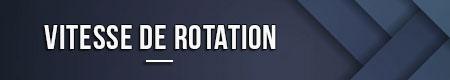 Velocidad de rotación