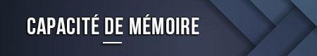 capacidad de memoria