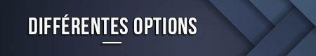 diferentes opciones