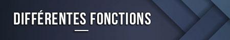 diferentes funciones