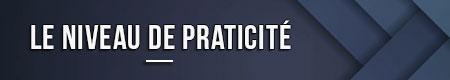 el nivel de practicidad