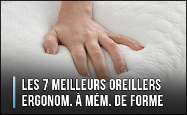 ¿Cuál es la mejor almohada ergonómica con memoria de forma?