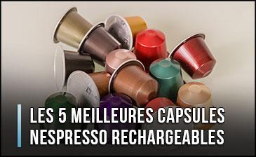 ¿Cuál es la mejor cápsula recargable para Nespresso?