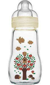 Botella de vidrio MAM Feel Good
