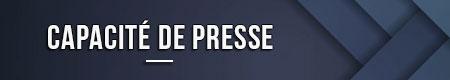 Capacidad de prensa