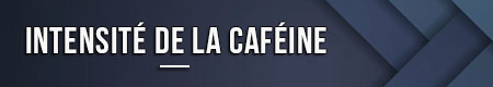 Intensité de la caféine
