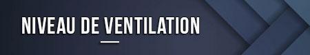 Nivel de ventilacion