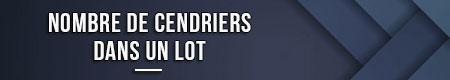 Número de ceniceros en un juego