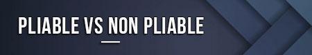 Plegable VS no plegable