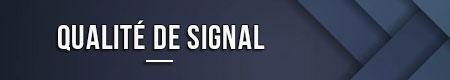 Calidad de la señal