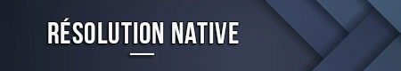 Resolucion nativa
