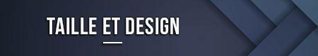 Tamaño y diseño